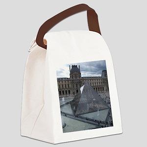 Louvre Canvas Lunch Bag