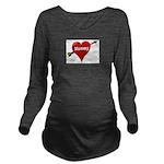 mommy Long Sleeve Maternity T-Shirt