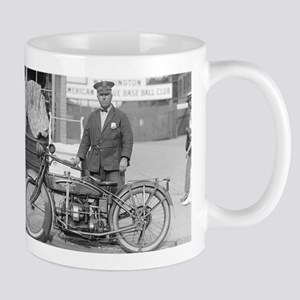 Motorcycle Police Officer Mugs