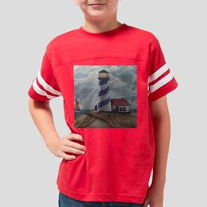 Lighthouse Scene Youth Football Shirt