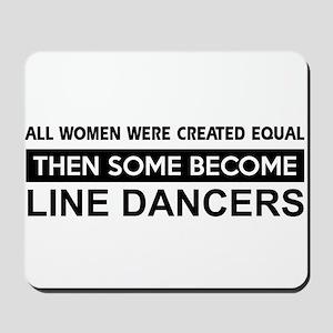 line created equal designs Mousepad