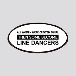 line created equal designs Patches
