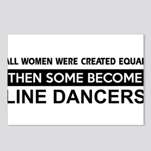 line created equal designs Postcards (Package of 8