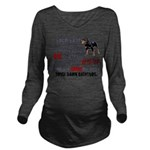 Killer Bathtubs Long Sleeve Maternity T-Shirt