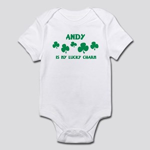 Andy is my lucky charm Infant Bodysuit
