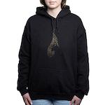 Jeweled Greyhound Bronze Sweatshirt