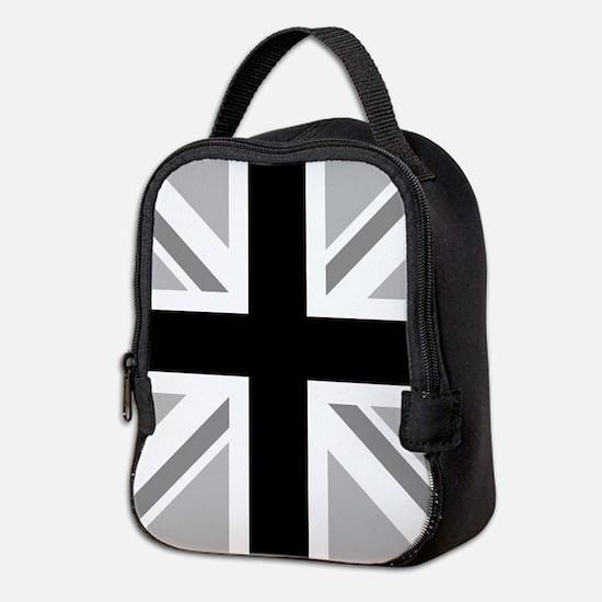 Union Flag Monochrome Neoprene Lunch Bag