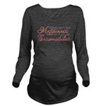 Snowmobiling Long Sleeve Maternity T-Shirt