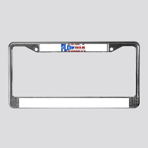 Florida - Puerto Rico License Plate Frame