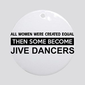 jive created equal designs Ornament (Round)
