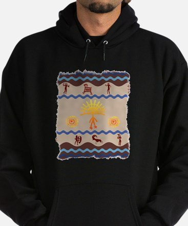 Spirit Path Rock Art Hoodie
