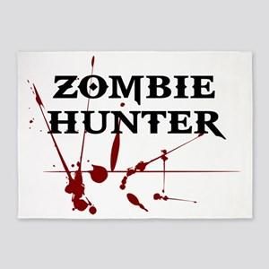 Zombie Hunter 5'x7'Area Rug