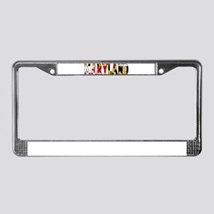 Maryland License Plate Frame