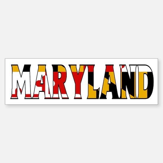 Maryland Bumper Bumper Bumper Sticker