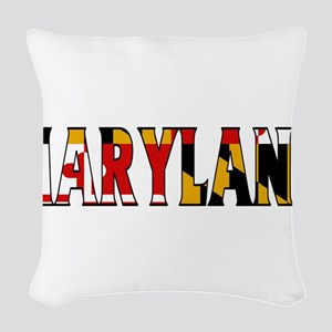 Maryland Woven Throw Pillow