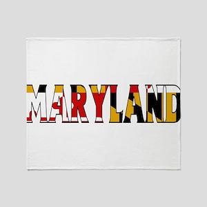 Maryland Throw Blanket