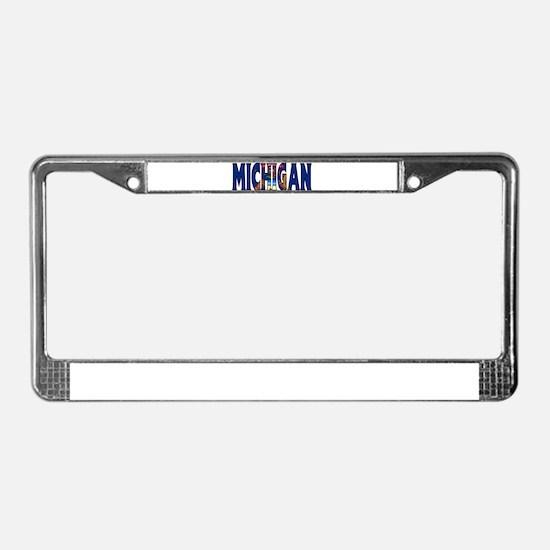 Michigan License Plate Frame
