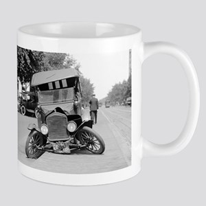 Crashed Ford Model T Mugs