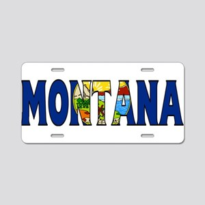 Montana Aluminum License Plate
