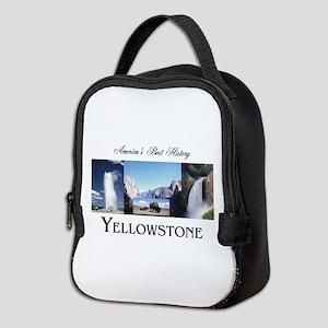 Yellowstone Americasbesthistory Neoprene Lunch Bag
