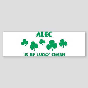 Alec is my lucky charm Bumper Sticker