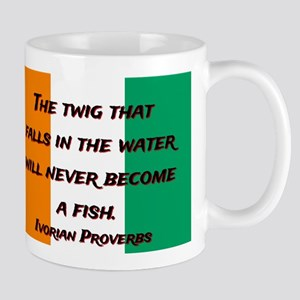 The Twig That Falls - Ivorian Proverb 11 oz Cerami
