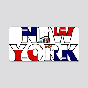 New York - Dominican Republic Aluminum License Pla