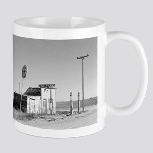 Abandoned Texaco Station Mugs
