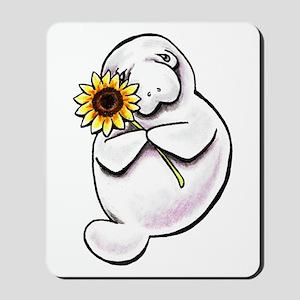 Sunny Manatee Mousepad