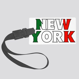 New York - Italy Luggage Tag