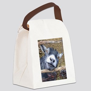 Give Us A Kiss! Canvas Lunch Bag