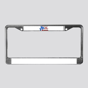New York - Puerto Rico License Plate Frame