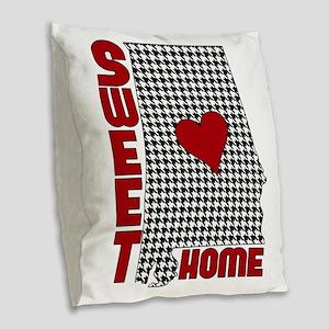 Sweet Home Alabama Burlap Throw Pillow