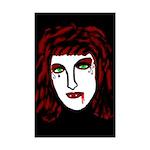 Dark Vampire Mini Poster Print