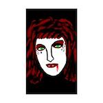 Dark Vampire Rectangle Sticker