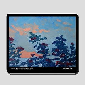 Rose No.11 Floral Art Mousepad