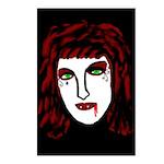 Dark Vampire Postcards (Package of 8)