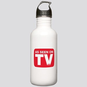 As Seen On TV Logo Water Bottle