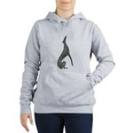 Marcasite Greyhound Silver Sweatshirt