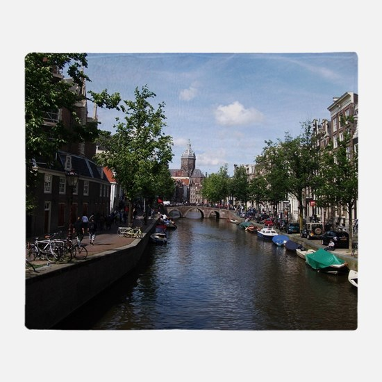Amsterdam Throw Blanket