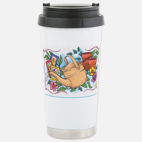 Flower pot Stainless Steel Travel Mug