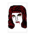 Vampire Mini Poster Print