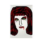 Vampire Rectangle Magnet (100 pack)