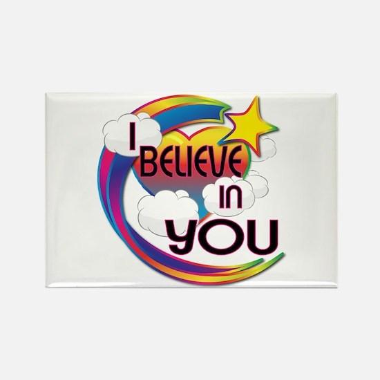 I Believe In You Cute Believer Design Rectangle Ma