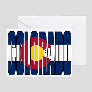 Colorado Flag Greeting Cards