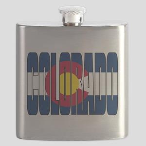 Colorado Flag Flask