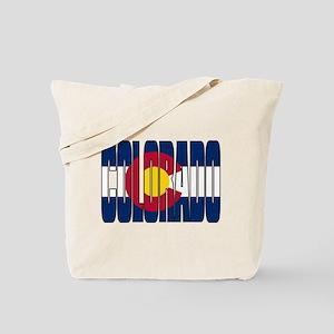 Colorado Flag Tote Bag