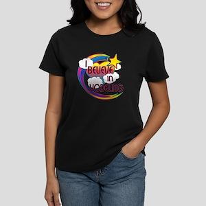 I Believe In Yodeling Cute Believer Design Women's