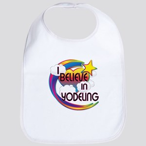 I Believe In Yodeling Cute Believer Design Bib