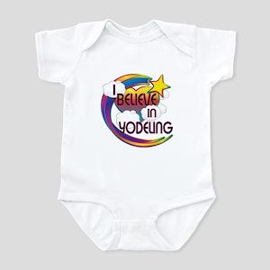 I Believe In Yodeling Cute Believer Design Infant